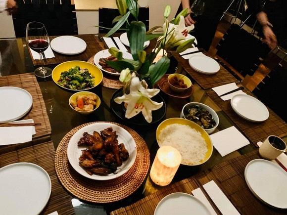 Bằng Kiều đến ăn tối ở nhà mới của Bống Hồng Nhung tại Hollywood, hé lộ không gian đẹp như khách sạn - Ảnh 5.