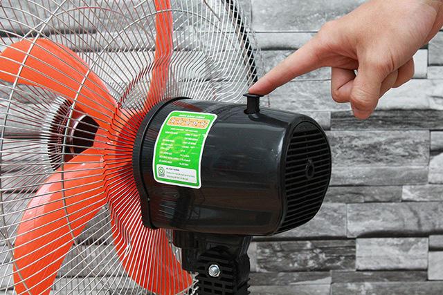 Bật số to tiết kiệm điện và những sai lầm khi dùng quạt mùa nóng - Ảnh 3.