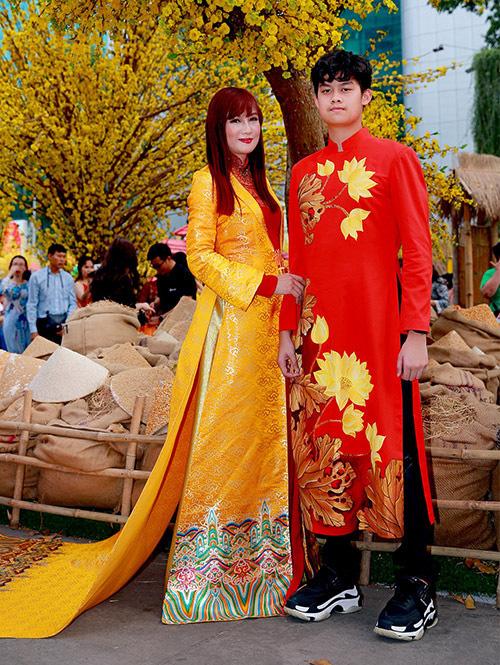 Các con sao Việt có chiều cao vượt trội - Ảnh 9.