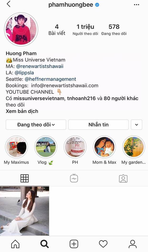 Sau loạt đồn đoán đời tư, Phạm Hương xoá sạch ảnh trên Instagram chỉ để lại 1 khoảnh khắc đặc biệt, chuyện gì đây? - Ảnh 1.