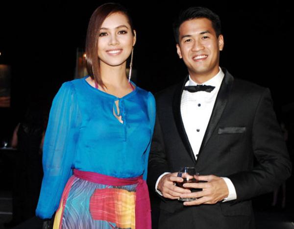 Em chồng Hà Tăng: Chàng doanh nhân yêu toàn Á hậu, hot girl nổi tiếng của showbiz Việt - Ảnh 2.