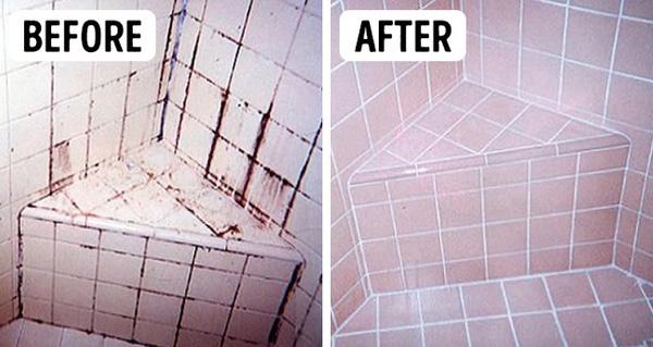 Quên chai nước tẩy nồng nặc hóa chất đi, vết bẩn đen xì trên kẽ gạch nhà tắm sẽ sạch bách nhờ thứ dung dịch mua hiệu thuốc nào cũng có - Ảnh 3.