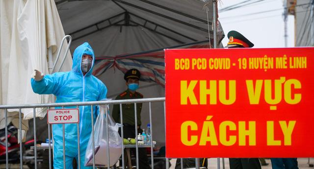 Cách ly, xét nghiệm 28 y bác sĩ BV Thận Hà Nội liên quan BN254 ở Mê Linh vừa công bố tối 9/4 - Ảnh 3.