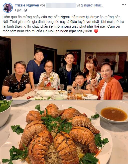 Trizzie Phương Trình, vợ cũ Bằng Kiều khẳng định dù ly hôn nhưng nam ca sĩ vẫn là gia đình của mình - Ảnh 1.