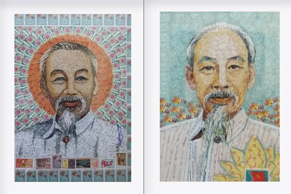 130 năm ngày sinh Bác Hồ: Kỳ công món quà ngoại giao, bí mật trong tranh ghép Bác Hồ - Ảnh 6.