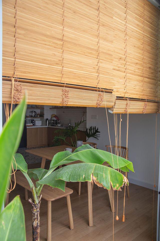 Căn hộ với đồ nội thất được làm hoàn toàn từ gỗ tự nhiên - Ảnh 9.
