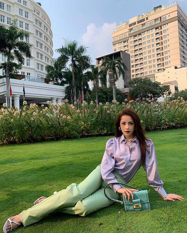 """Sao Việt diện trang phục xanh ngát: Xu hướng màu mới và mẹo """"lên đồ"""" cho nàng da ngăm - Ảnh 12."""