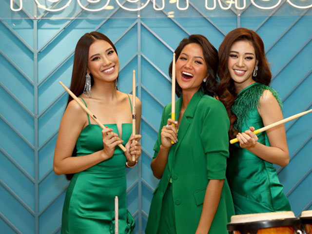 """Sao Việt diện trang phục xanh ngát: Xu hướng màu mới và mẹo """"lên đồ"""" cho nàng da ngăm - Ảnh 9."""