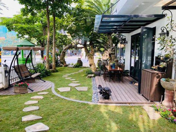 Khu vườn xanh mướt trong biệt thự ở ngoại thành của ca sĩ Xuân Nhị, tận mắt mới thấy cực hoàng tráng - Ảnh 5.