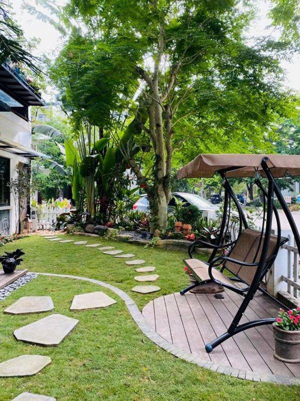 Khu vườn xanh mướt trong biệt thự ở ngoại thành của ca sĩ Xuân Nhị, tận mắt mới thấy cực hoàng tráng - Ảnh 6.