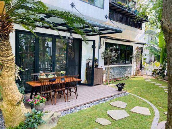 Khu vườn xanh mướt trong biệt thự ở ngoại thành của ca sĩ Xuân Nhị, tận mắt mới thấy cực hoàng tráng - Ảnh 7.
