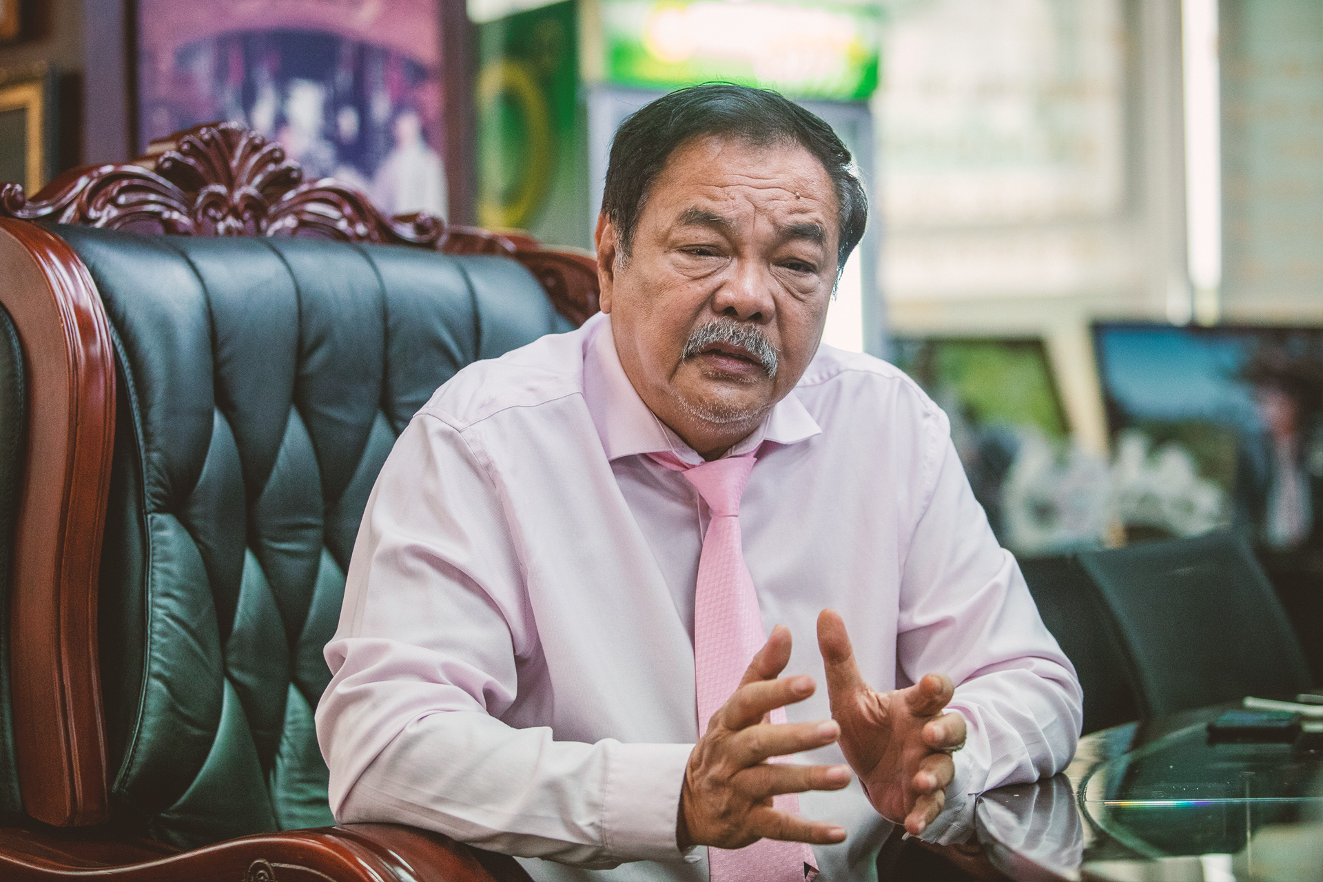 Nhà sáng lập kiêm tổng giám đốc Tân Hiệp Phát Trần Quí Thanh: Xây dựng Tân Hiệp Phát là để trường tồn - Ảnh 1.