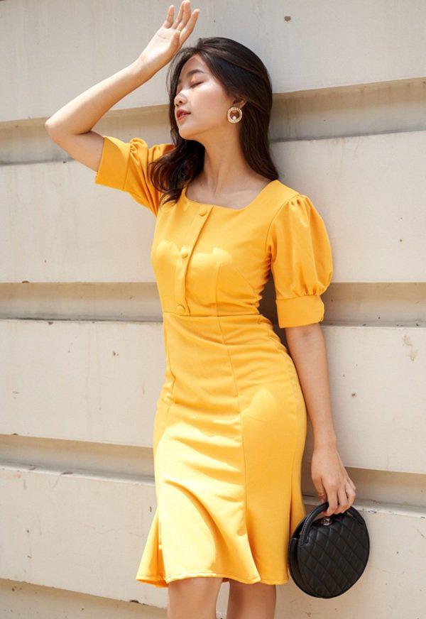Cách chọn váy liền phù hợp vóc dáng - Ảnh 2.