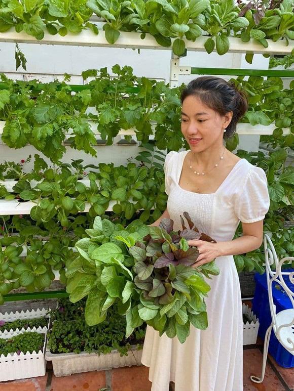 Khám phá vườn rau sạch của vợ chồng đạo diễn của các Hoa hậu Hoàng Nhật Nam - Ảnh 3.