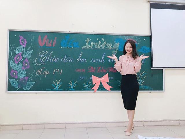 Cô giáo hot girl xinh đẹp, dịu dàng được học trò yêu quý - Ảnh 3.
