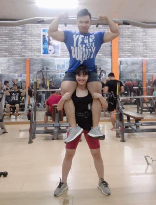 Chuyện tình thầy trò nên duyên vợ chồng nhờ tập gym - Ảnh 2.