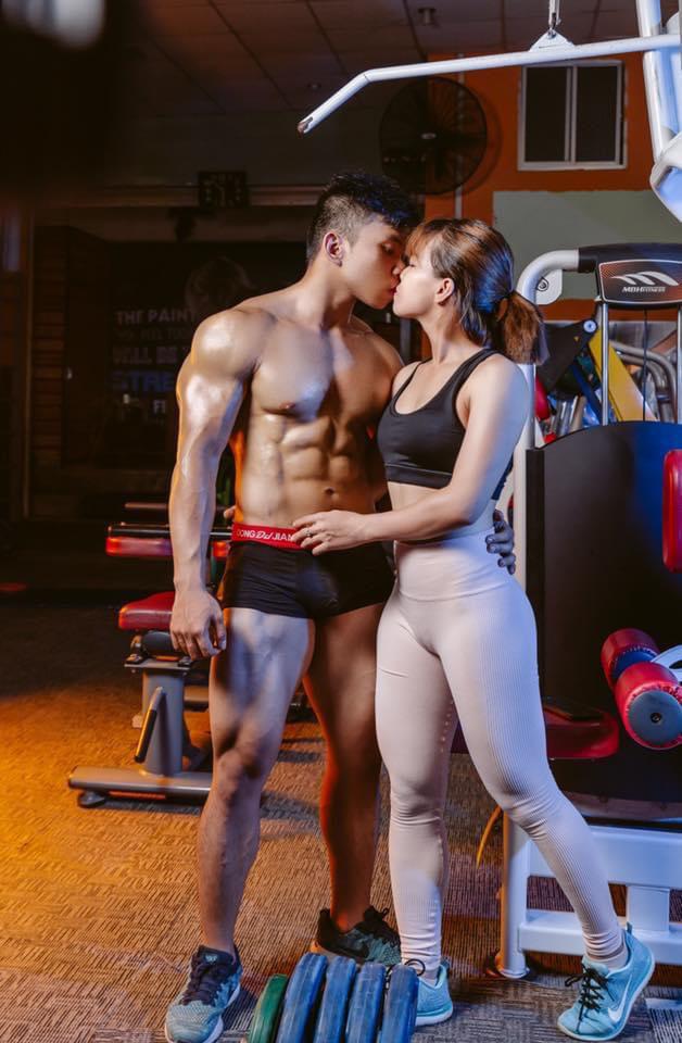 Chuyện tình thầy trò nên duyên vợ chồng nhờ tập gym - Ảnh 3.