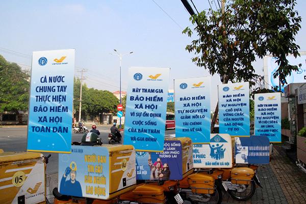 Tổ chức lễ ra quân hưởng ứng Tháng vận động triển khai BHXH toàn dân - Ảnh 1.