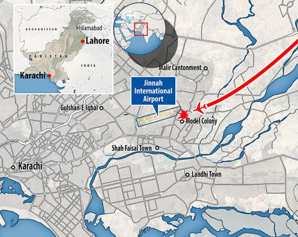 Nhiều sỹ quan quân đội, doanh nhân, nhân viên ngân hàng có mặt trong tai nạn rơi máy bay tại Parkistan ngày 22/5 - Ảnh 4.