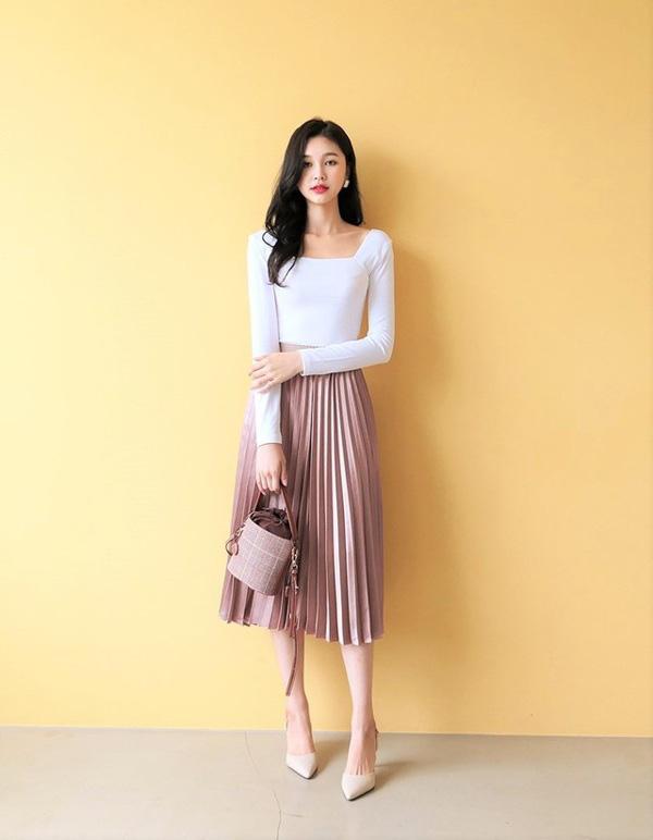 Chọn đúng kiểu chân váy giấu đùi cột đình hoàn hảo, nàng công sở tự tin khoe vóc dáng - Ảnh 17.