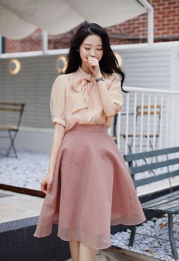 Chọn đúng kiểu chân váy giấu đùi cột đình hoàn hảo, nàng công sở tự tin khoe vóc dáng - Ảnh 7.