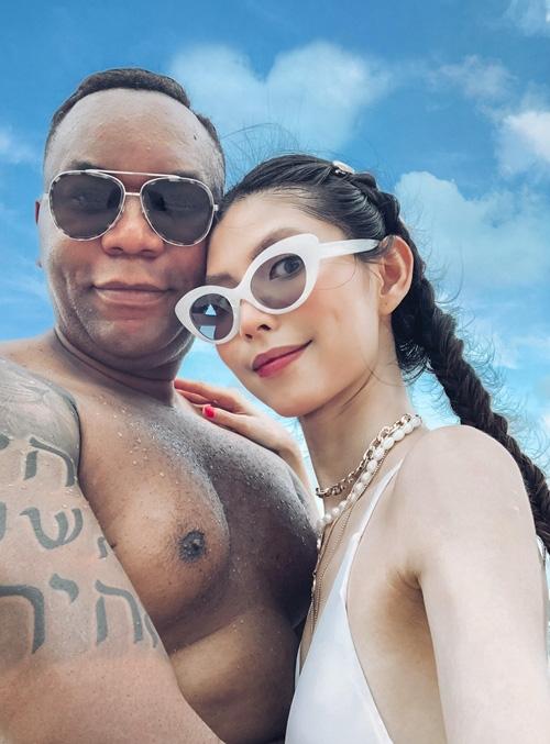 Thùy Dương Next Top chưa vội cưới bạn trai Mỹ - Ảnh 1.