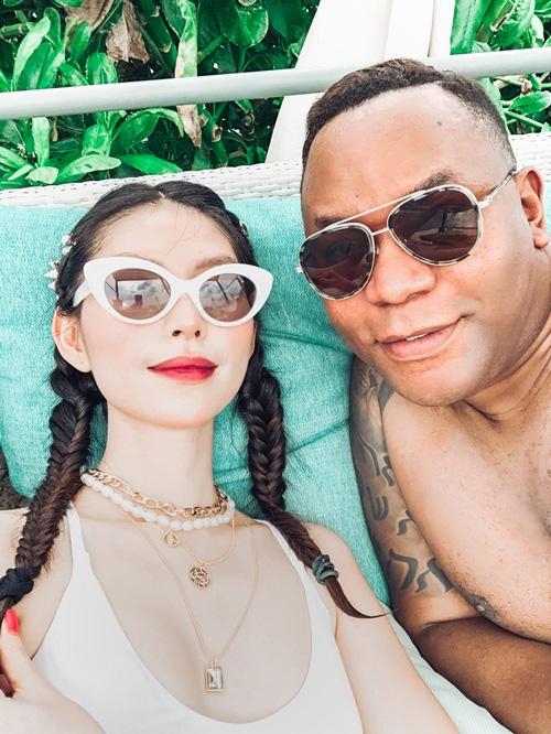 Thùy Dương Next Top chưa vội cưới bạn trai Mỹ - Ảnh 3.