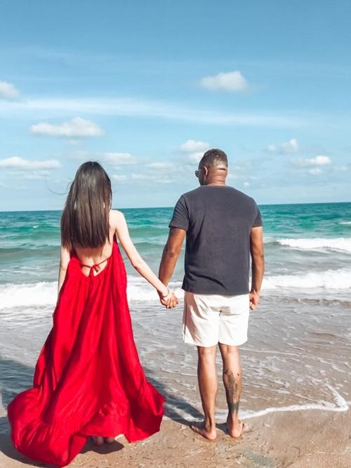 Thùy Dương Next Top chưa vội cưới bạn trai Mỹ - Ảnh 7.