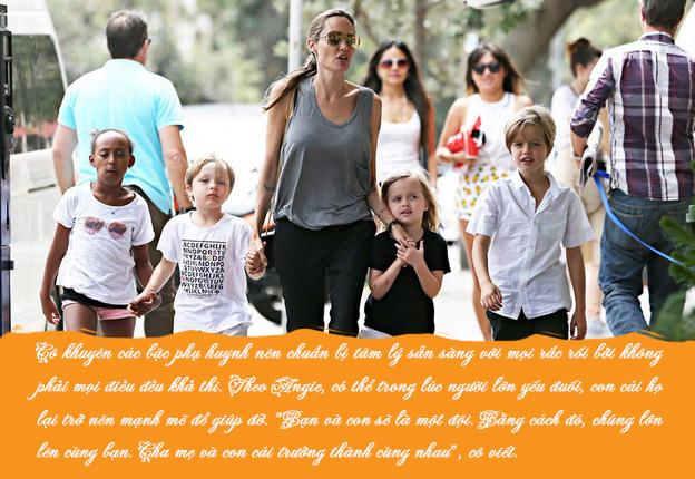 Bố mẹ nào cũng muốn tạo hình ảnh hoàn hảo trong mắt con cái, Angelina Jolie khuyên điều ngược lại - Ảnh 3.