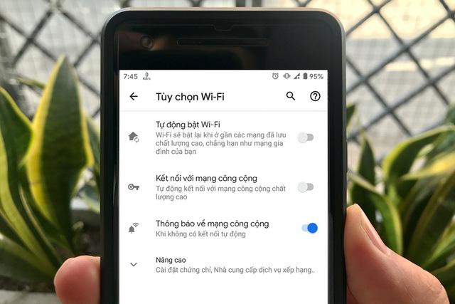 Cách tắt tính năng bật Wi-Fi tự động trên điện thoại Android  - Ảnh 1.