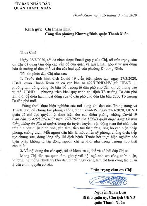 Hà Nội: Chưa được nhận tiền hỗ trợ COVID-19, người dân bức xúc vì phải nộp hàng chục loại phí tự nguyện - Ảnh 3.