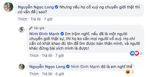 Đinh Mạnh Ninh gây tranh cãi khi cho rằng FaceApp thiếu tôn trọng người chuyển giới - Ảnh 3.
