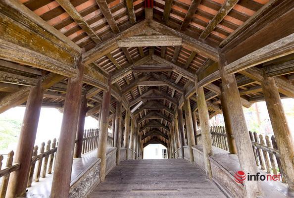 Tận mục cầu Ngói 500 năm tuổi đẹp nhất miền Bắc - Ảnh 3.