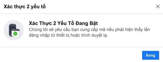 Cách cài đặt xác thực hai yếu tố trên Facebook không cần số điện thoại - Ảnh 7.