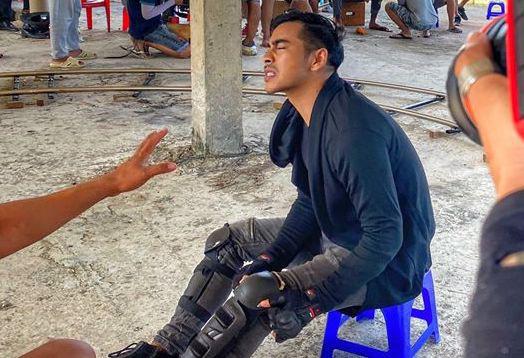 Thúy Ngân, Thanh Bình chấn thương khi quay phim hành động - Ảnh 1.