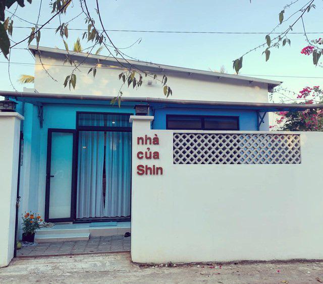 Mãn nhãn với ngôi nhà màu xanh nằm trên đảo Phú Quốc