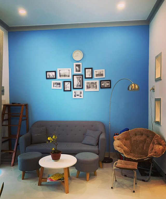 Mãn nhãn với ngôi nhà màu xanh nằm trên đảo Phú Quốc - Ảnh 4.