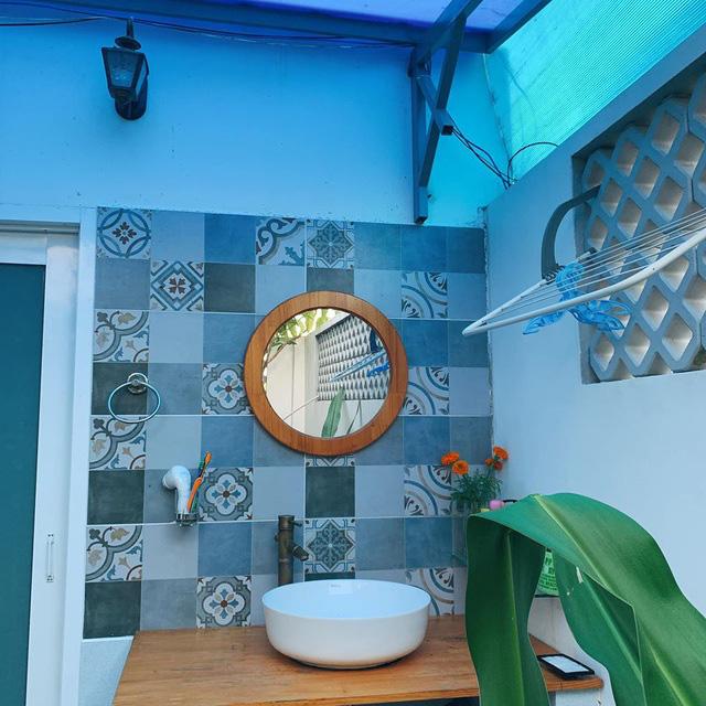Mãn nhãn với ngôi nhà màu xanh nằm trên đảo Phú Quốc - Ảnh 8.
