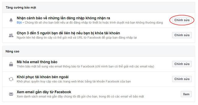 Những cách bảo mật giúp tài khoản Facebook không bị hack - Ảnh 5.