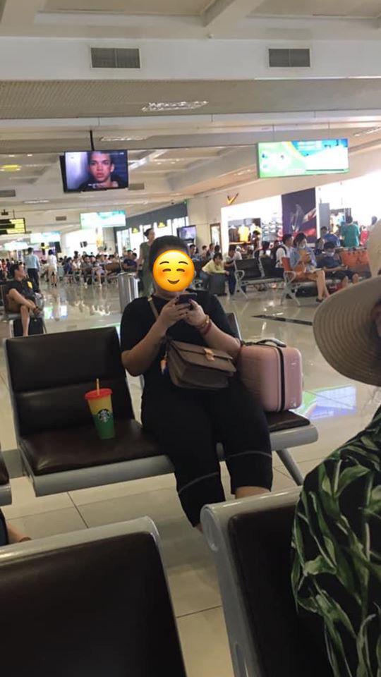 Xin ngồi kế bên trong phòng chờ sân bay, cô gái khước từ nhưng câu nói thiếu văn hóa sau đó mới là điều khiến nhiều người bức xúc - Ảnh 1.
