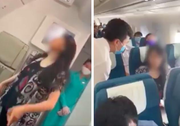 Diễn biến vụ việc nữ hành khách tự nhận tâm thần, không chịu được mùi nước hoa, làm loạn chuyến bay của Vietnam Airlines - Ảnh 1.