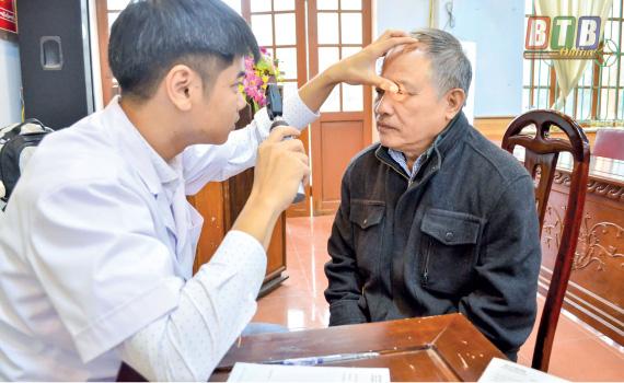 Thái Bình: Đẩy mạnh các mô hình chăm sóc sức khỏe người cao tuổi - Ảnh 1.