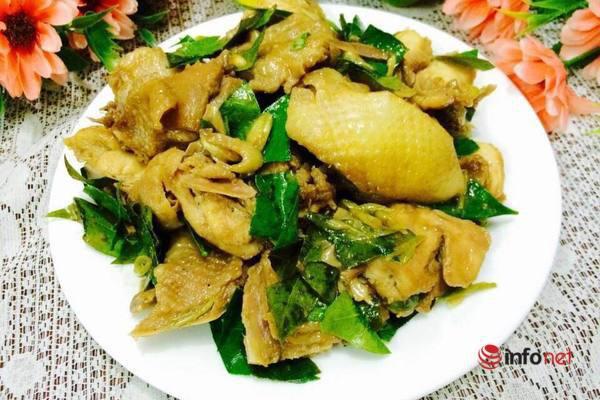 Thịt gà rang lá mắc mật thơm ngon đậm vị - Ảnh 1.