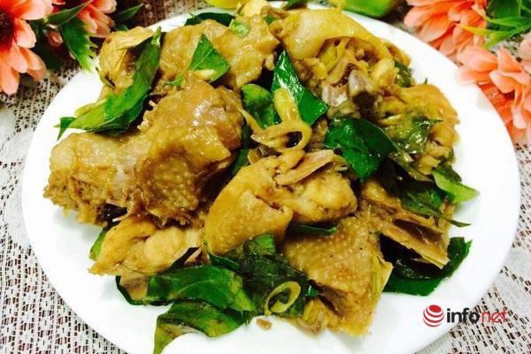 Thịt gà rang lá mắc mật thơm ngon đậm vị - Ảnh 6.