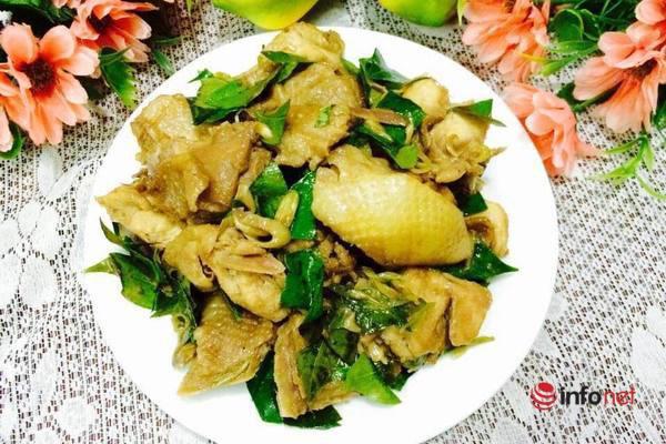 Thịt gà rang lá mắc mật thơm ngon đậm vị - Ảnh 7.