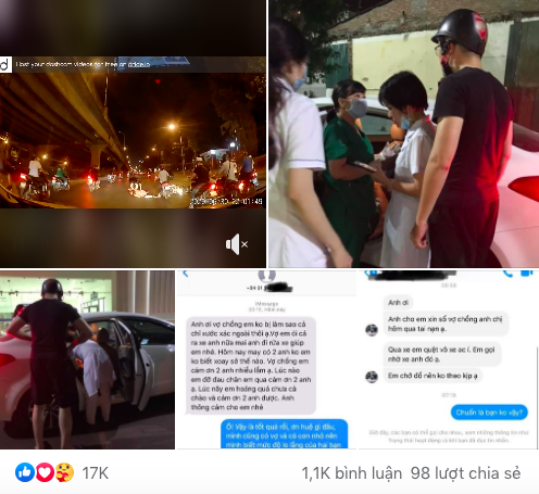 Thấy người phụ nữ mang bầu gặp nạn giữa đường trong đêm vắng, tài xế ô tô có hành động đẹp khiến nhiều người cảm kích - Ảnh 4.