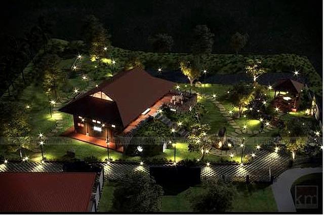 Sân vườn trong biệt thự bạc tỷ của 3 nam diễn viên nổi tiếng nhất nhì showbiz Việt, ai nhìn cũng phải ngưỡng mộ - Ảnh 2.