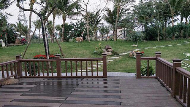 Sân vườn trong biệt thự bạc tỷ của 3 nam diễn viên nổi tiếng nhất nhì showbiz Việt, ai nhìn cũng phải ngưỡng mộ - Ảnh 5.