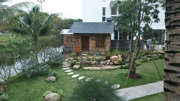 Sân vườn trong biệt thự bạc tỷ của 3 nam diễn viên nổi tiếng nhất nhì showbiz Việt, ai nhìn cũng phải ngưỡng mộ - Ảnh 6.