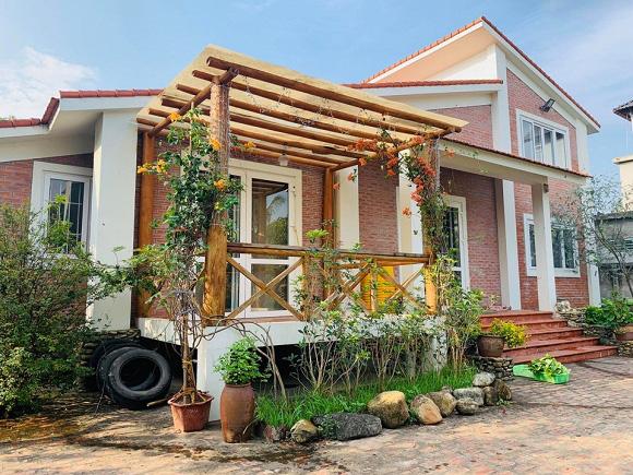 Sân vườn trong biệt thự bạc tỷ của 3 nam diễn viên nổi tiếng nhất nhì showbiz Việt, ai nhìn cũng phải ngưỡng mộ - Ảnh 10.